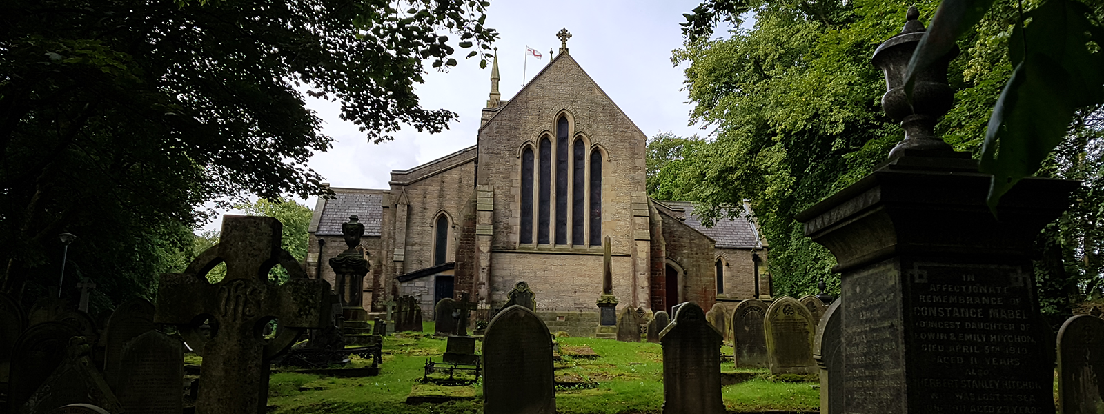 Christ Church as viewed from the east