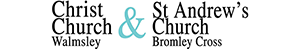 Christ Church Walmsley & St Andrew's Bromley Cross Logo