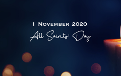 All Saints' Day 2020 banner
