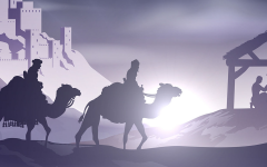 Epiphany 3 January 2021 - three kings visit the manger